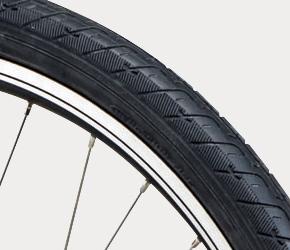 写真:セミスリックタイヤ(26×1.90HE)
