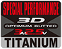 SPECIAL PERFORMANCE 3D OPTIMUM BUTTED 3AL2.5V TITANIUM